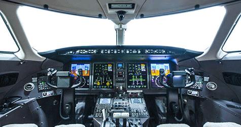 Jet Insiders Challenger 350 Cockpit