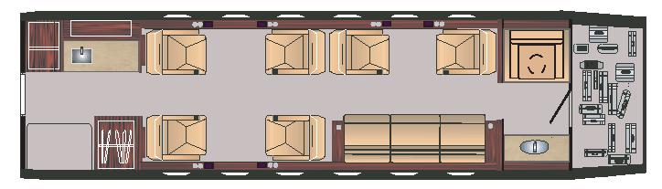 Jet Insiders Challenger 350 Interior