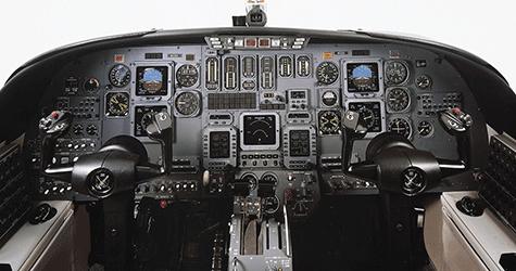 citation 2 cockpit