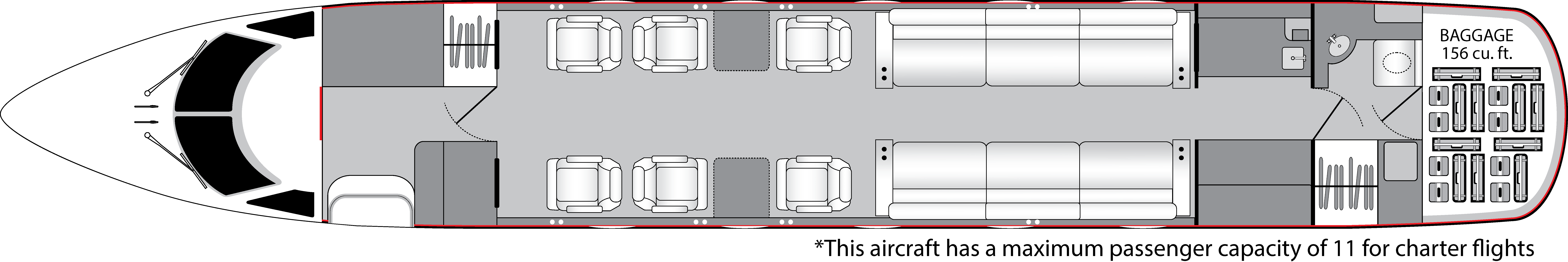 jet insiders gulfstream iii interior