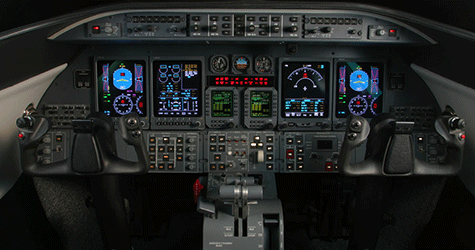Jet Insiders Learjet 70 Cockpit